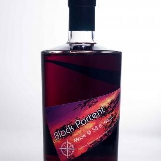 Black currant port style fruit wine