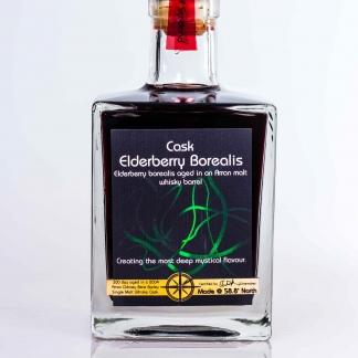 cask elderberry borealis whisky barrel aged port style fruit wine