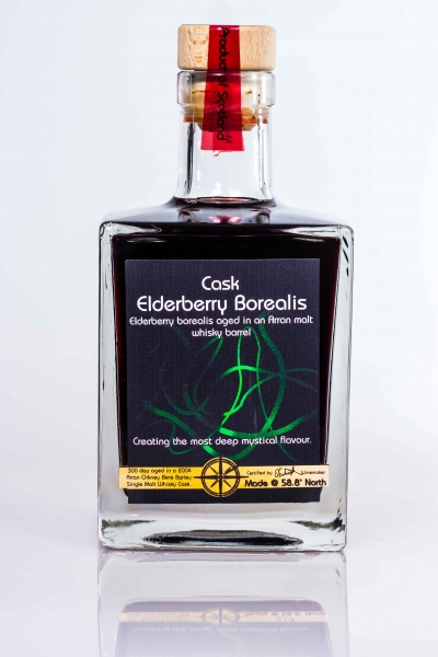 cask elderberry borealis whisky barrel aged port style fruit wine