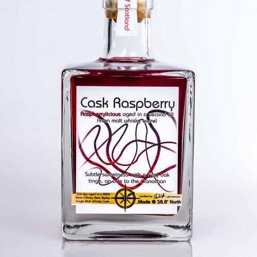 cask raspberry bere whisky cask aged fruit liqueur