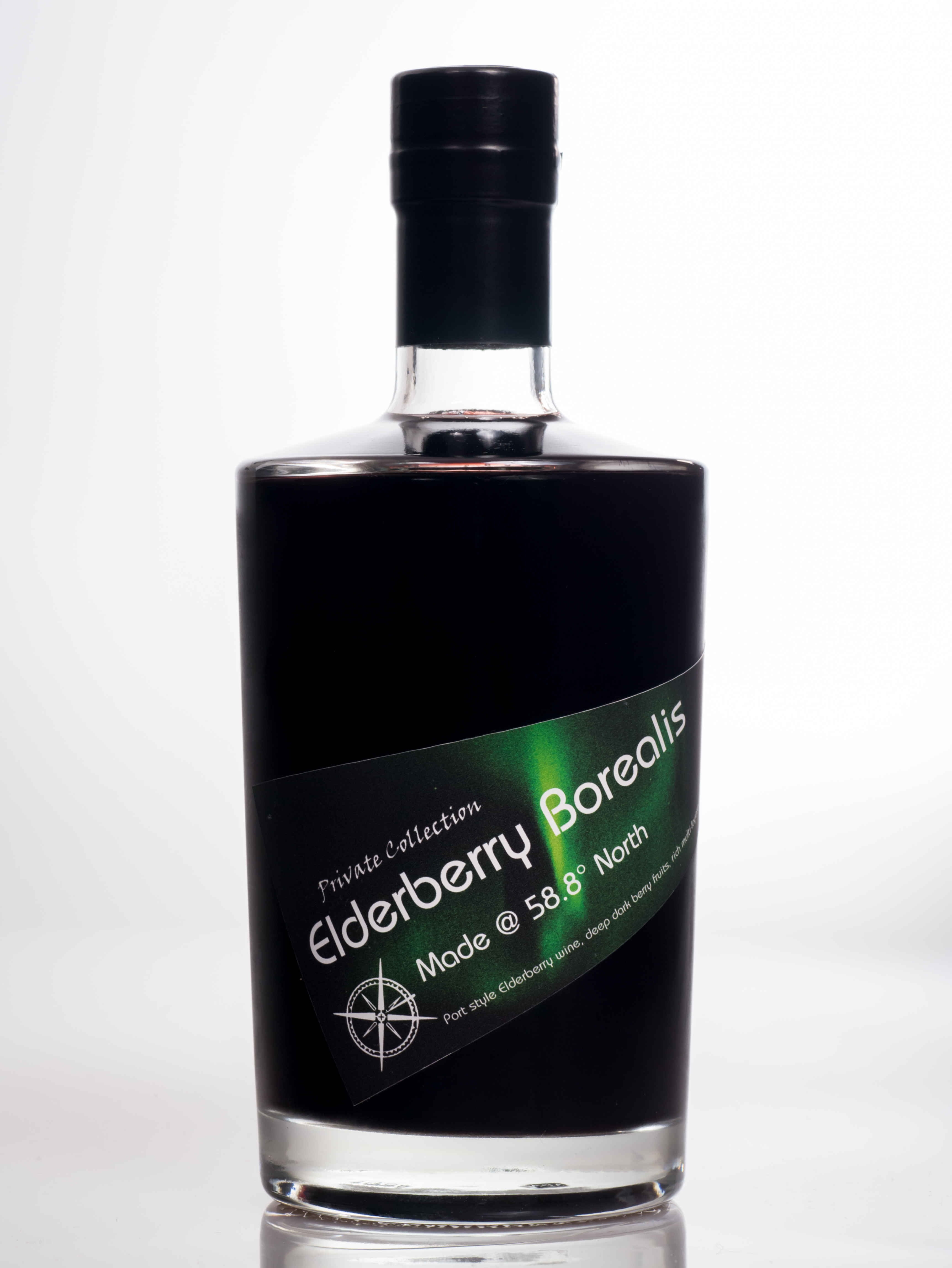 Elderberry port style fruit wine