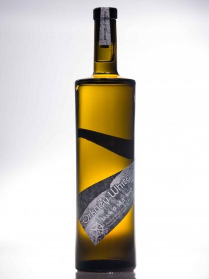 Orkney white elderflower and gooseberry white wine