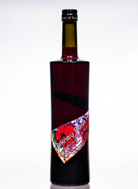 Orkney rosé aronia salal cranberry and rosehip fruit wine