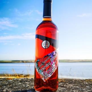 orkney wine company rose wine rosehip aronia
