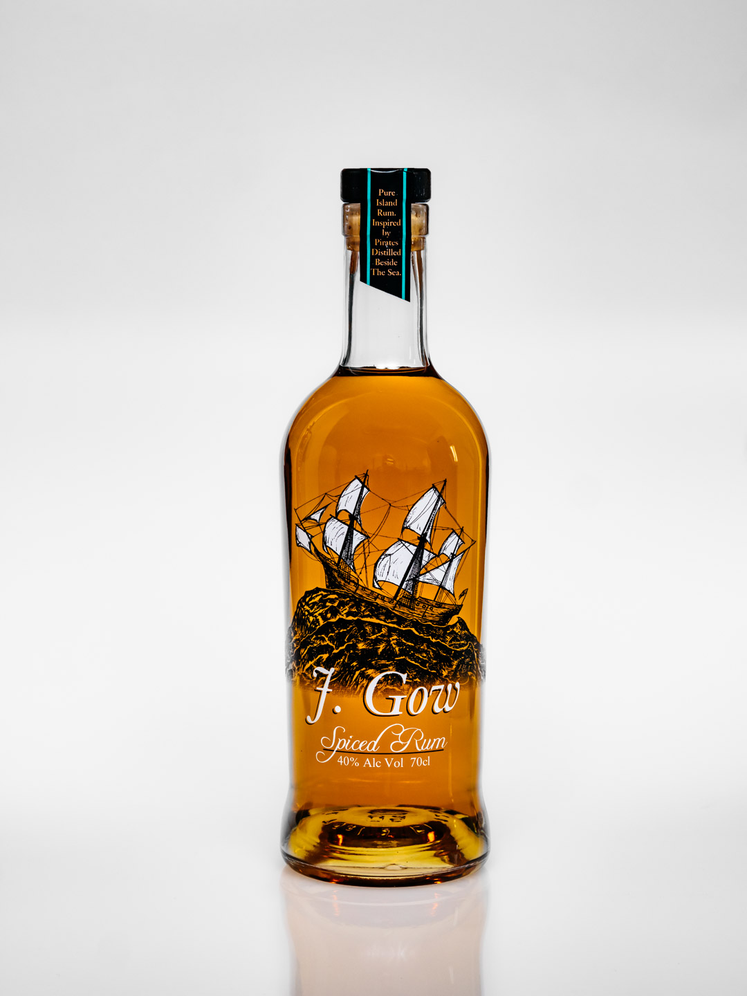 J. Gow spiced rum