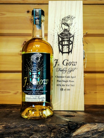 j gow scottish pure single rum