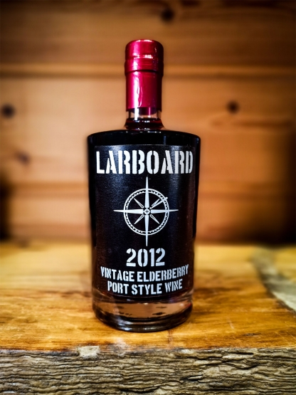larboard vintage elderberry port wine