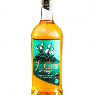 J. Gow Rum 3 year old Scottish rum
