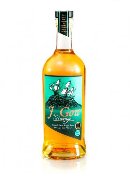 J. Gow Rum 3 year old Scottish rum